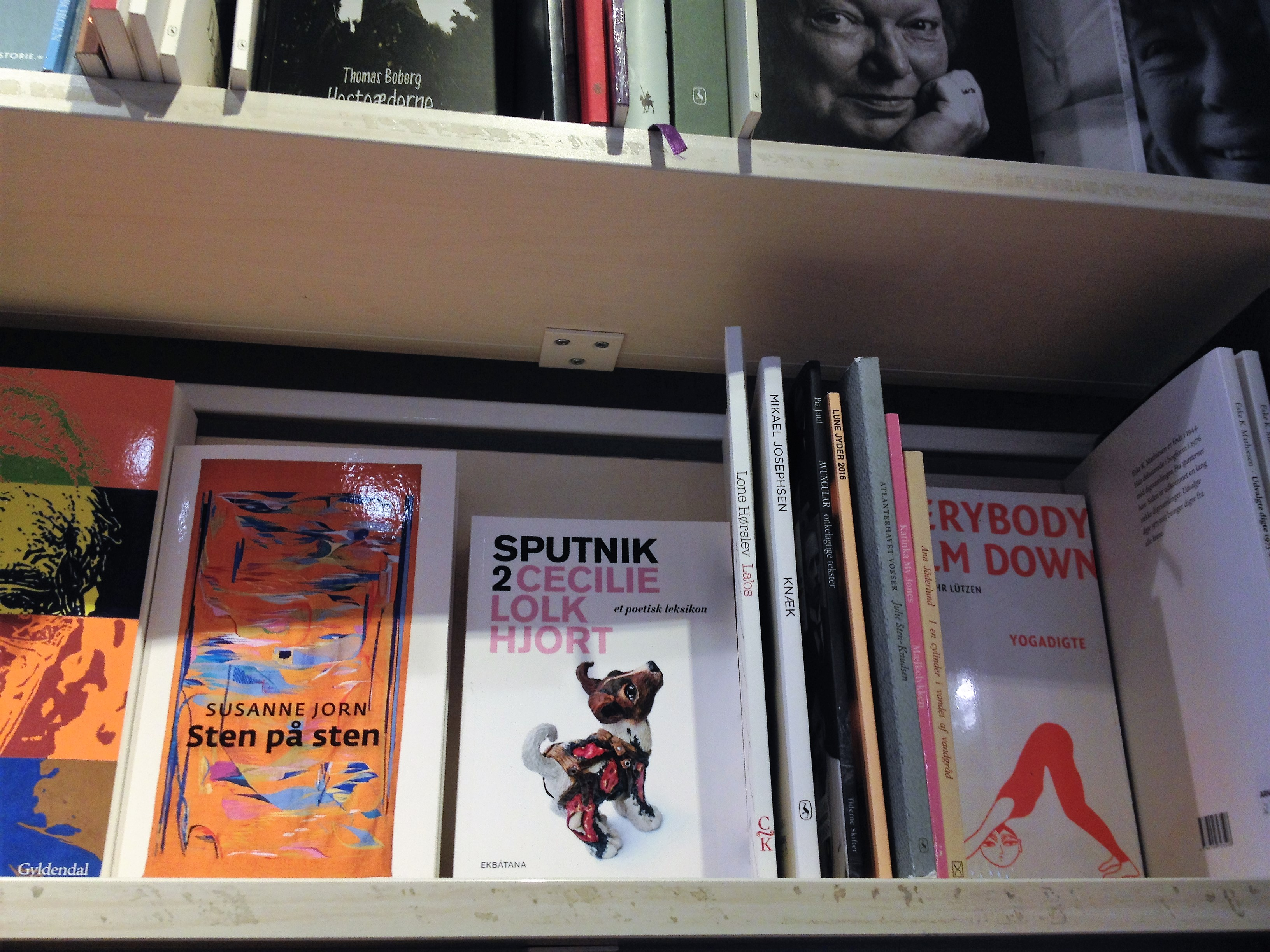poetisk leksikon, arnold busck, Sputnik 2, Cecilie lolk hjort, boghandlere