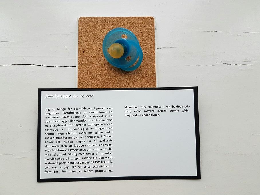 Cecilie lolk hjort, sputnik 2, udstilling, skumfidus
