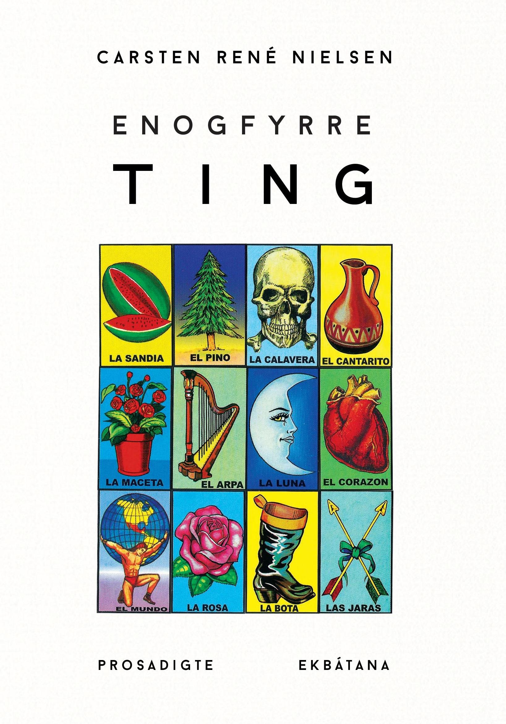 release for Enogfyrre ting, Carsten Rene nielsen, prosadigte