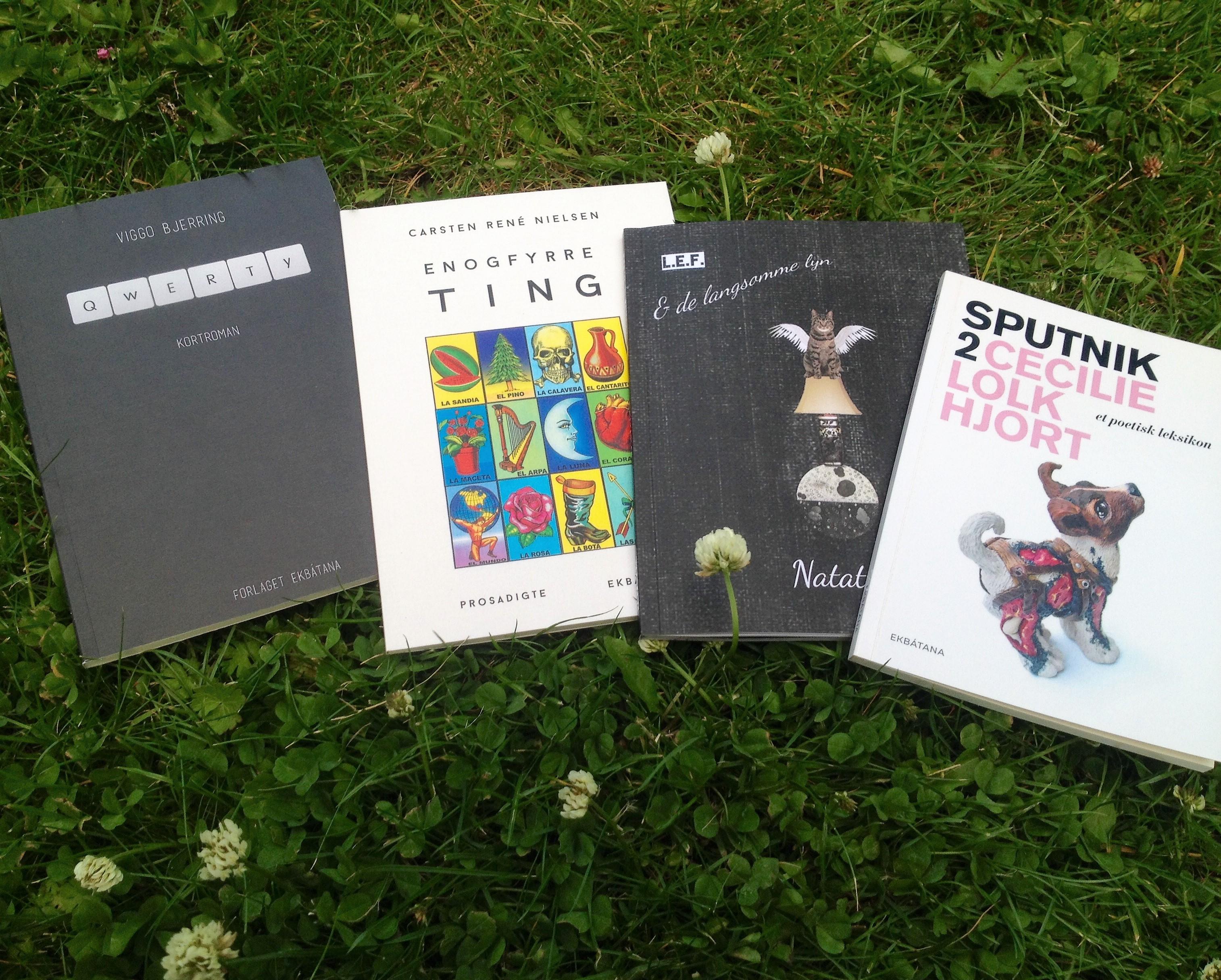 Sommerlommerabat, Enogfyrre ting, Sputnik 2, qwerty, Natatlas, Lars Emil Foder, Viggo Bjerring, Cecilie Lolk Hjort, Carsten René Nielsen