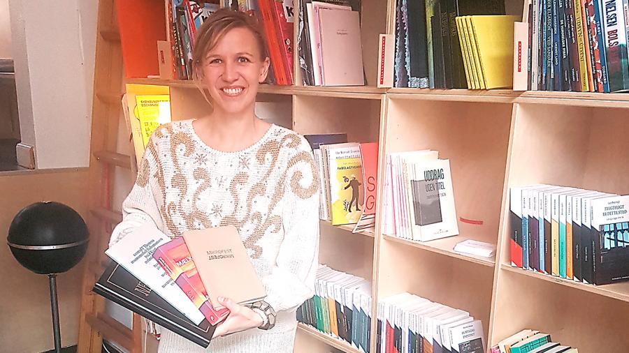 Christel Sunesen, de små forlag, Ekbátana, fredensborg bibliotek
